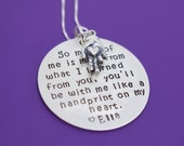 Teacher Necklace - Teacher Gift - Teacher Appreciation - Teacher Jewelry - Graduation gift - End of Year - Custom Teacher