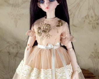 BJD doll slim MSD Minifee clothes sweet lace gown