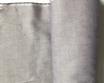 Plain black or dark grey cotton canvas