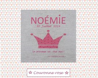 """Canvas 20 x 20 cm model """"Rose Crown"""""""