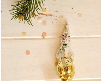 "Collection Christmas tree decoration, 1950-1960's / Коллекционная ёлочная игрушка, cказка ""Доктор Айболит"" 1950-1960-е"