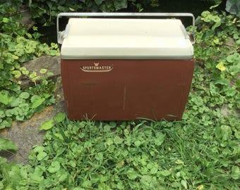 Vintage Sportsmaster Cooler, Vintage Cooler