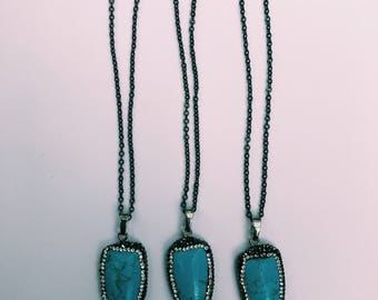 SALE! Blue Sparkle Necklace