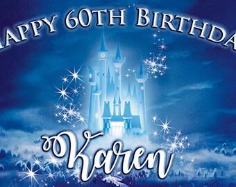 Disney Cinderella's Castle Backdrop