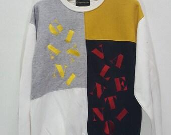 Vintage Gianni Valentino spellout big logo sweatshirt