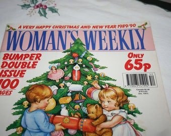 Woman's Weekly Magazine, Christmas and New Year 1989/90, Bumper Double Issue
