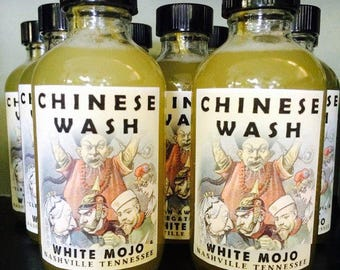 Chinese Wash - floor wash - hoodoo - pagan - witchcraft