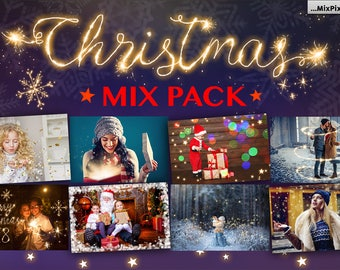 Christmas, overlays, photoshop, lights, snow, Pack, winter, Overlays, Png, Bokeh, Lights, Frames, fairy, clipart, wedding, holiday, overlay