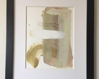Minimalist Haiku Painting