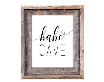Babe Cave [Office Decor]