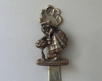 Brass 'Crinoline' Door Knocker
