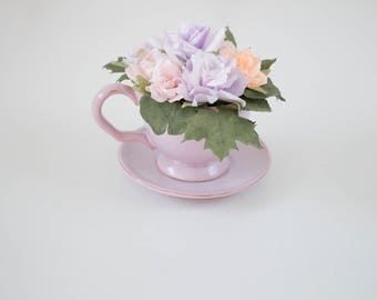 Paper Flowers in a cup