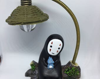 Spirited Away No face Mask Kaonashi  Man Studio Ghibli light lamp gift