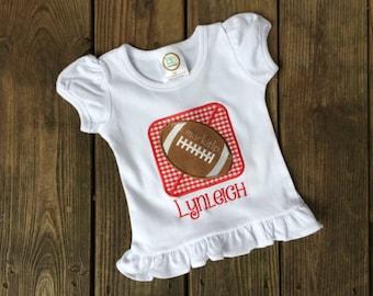 Football Square T-Shirt