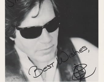 Jose Feliciano Original Vintage Hand Signed 8X10 Autographed Photo