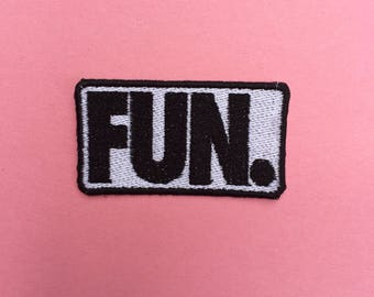 Fun. Iron-on Patch