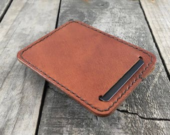 Leather wallet EDC wallet Every day carry wallet Personalised wallet Thin wallet Kangaroo leather wallet Leather EDC Slim leather wallet
