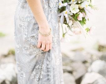 Art Deco Bracelet, Bridal Bracelet, Vintage Bracelet, Wedding Bracelet, Crystal Bracelet, Rhinestone Bracelet, Aurora Borealis Bracelet