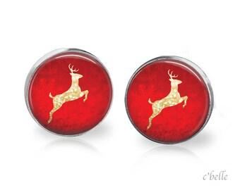 Christmas Earrings Winter-1