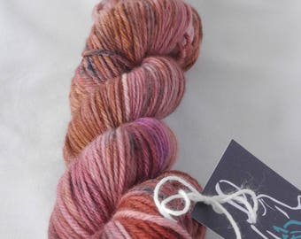 All the mauves in the world DK base yarn