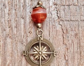 True North Compass Pendant