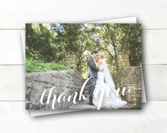 Printable Thank You Photo Card - Any Occasion