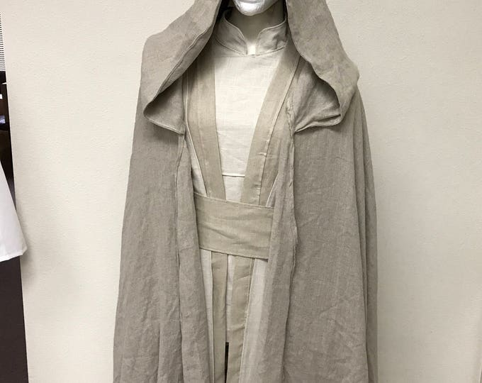 Star Wars Inspired Jedi/Sith Robe/Cloak made with Linen
