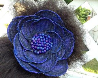 Multipurpose Denim Flower