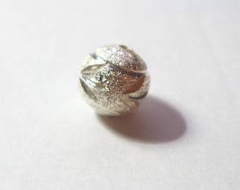 Pearl Silver 925/1000 shaped 12mm