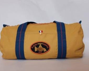 The yellow ochre duffel bag, organic cotton