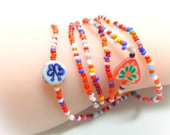 Beaded wrap bracelet,wrap bracelet,boho wrap beaded bracelet,gypsy jewelry,stretchy bracelet,boho jewelry,wraps,gifts for her,seed bracelets