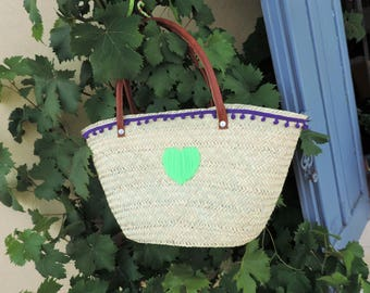 Beach basket, Wicker bag, beach bag