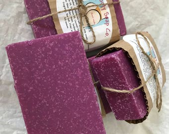 Organic Tobacco Flowers Soap
