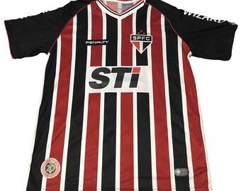 Vintage Sao Paulo FC Mauricio Sanzi #10 Jersey