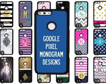 Choose from 70 Monogram / Personalized / Customizable Designs Google Pixel Rubber Phone Case Google Pixel XL Custom Phone Case