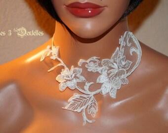Bridal ivory lace