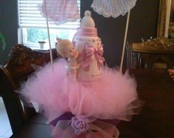 Girl Baby Shower Centerpieces