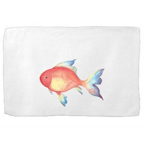 Tropical Fish Kitchen Towel,Sea Creature Dish Towel,Tea Towel,Flour Sack Towel,Sea Dish Towel,Flour Sack Kitchen Towel,Flour Sack Dish Cloth