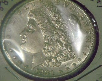 1881-S Morgan Silver Dollar (High Grade)-GN18