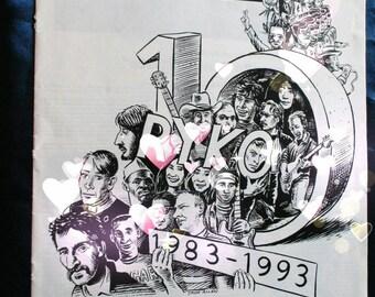 David Bowie Ryko 10th Anniversary Billboard advertising publication Ad advertorial ZAPPA 93 YOKO RINGO