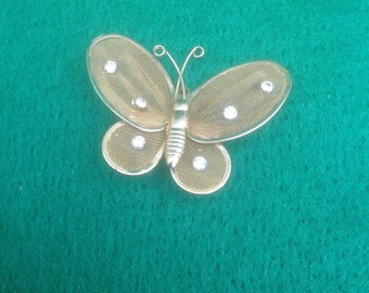 Butterfly Pin Vintage