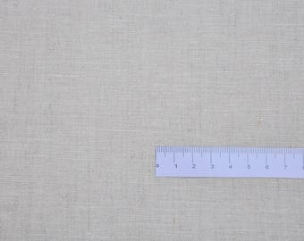 """Plain"" - 100% linen flax - coupon 30 x 150 cm"