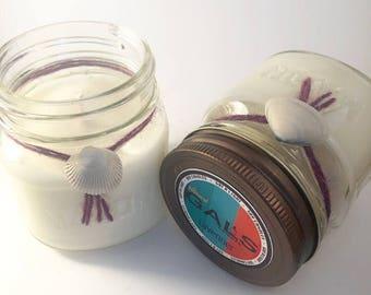 Lavender 8oz Mason Jar Soy Wax Organic Candle