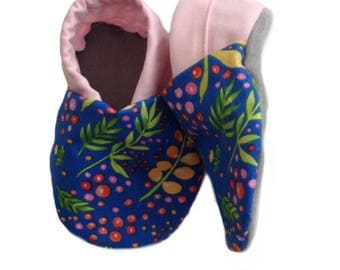 Wild Meadow Soft Sole Baby Shoes, booties, pram shoes