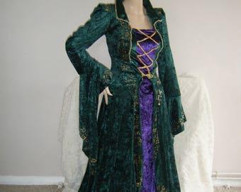 Medieval Renaissance Hocas Pocas WINIFRED Sanderson sisters custom made costume