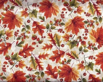 Fall Leaves Curtain Valance