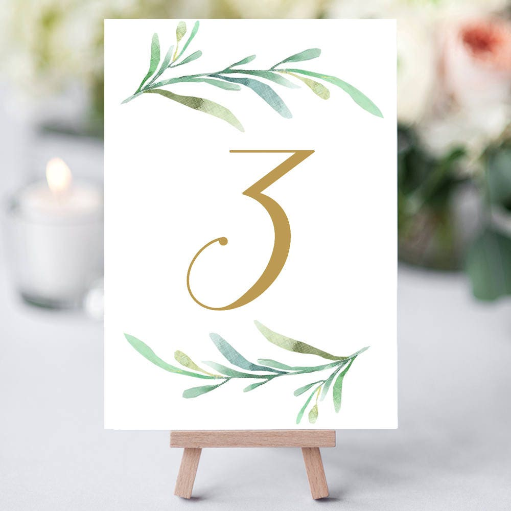 This is a picture of Geeky Table Numbers Printable