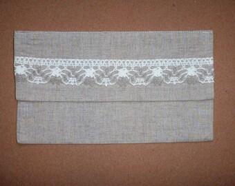 Oriental Cloth Envelope * Envelope for Money * Wedding Envelope * Linen Envelope for Greetings