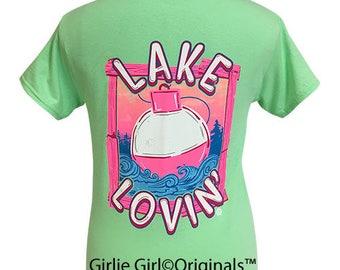 Girlie Girl Originals Lake Lovin' Mint Short Sleeve T-Shirt