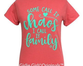 Girlie Girl Originals Family Coral Silk Short Sleeve T-Shirt
